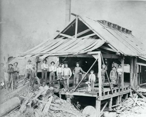 Averill Sawmill,1900.
