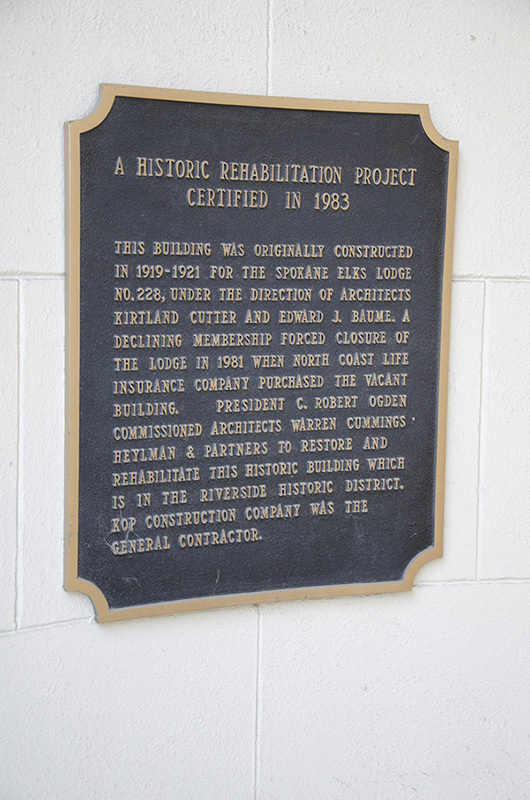 Modern Historic Restoration Placard