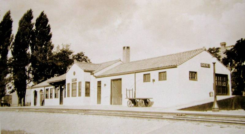 The Cheney Depot, c. 1930