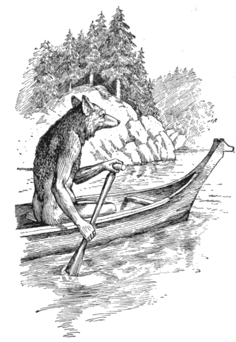 Coyote Ascends the Columbia