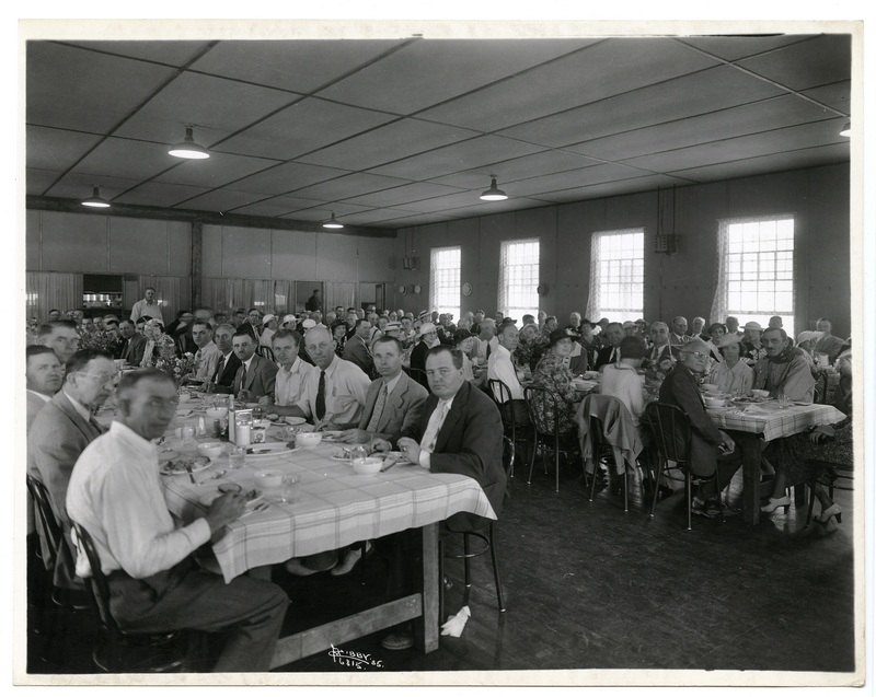 The dining hall, 1935