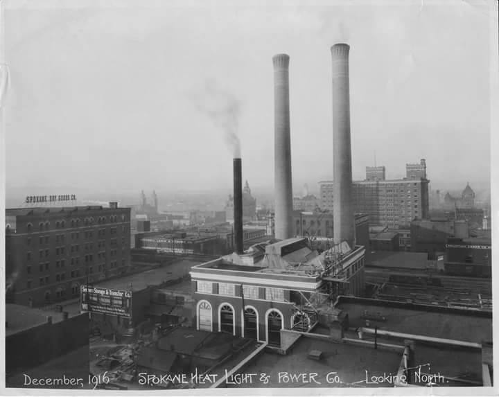 Steam Plant 1916