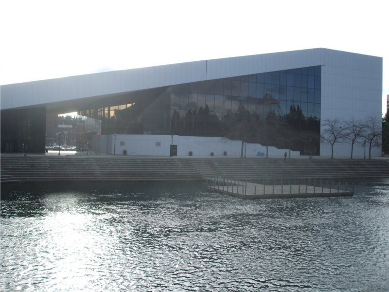 The River Front face of the Opera House