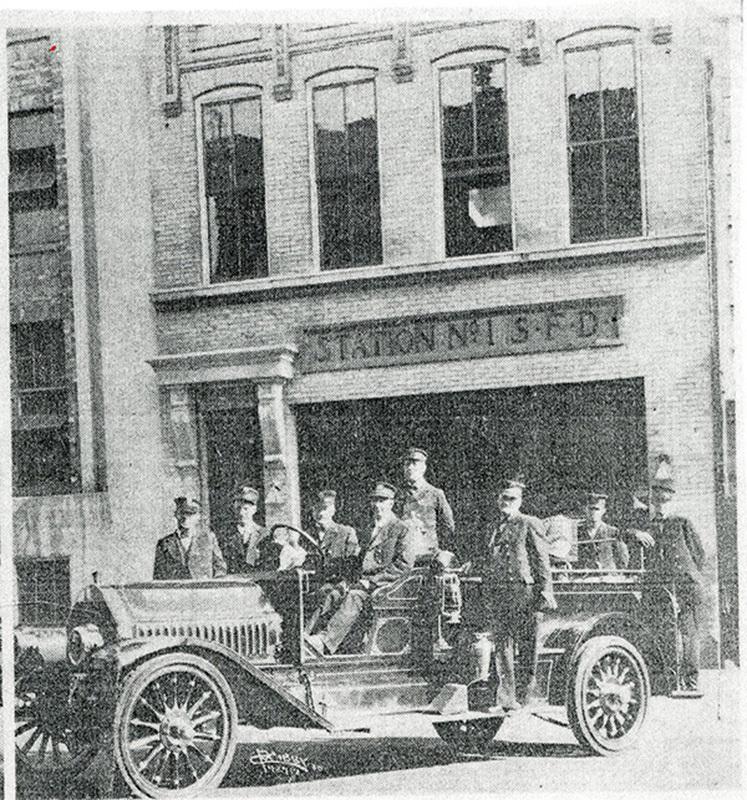 Spokane Fire Station No. 1 Personnel
