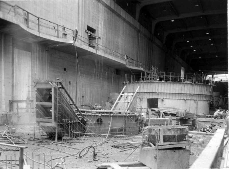 Chief Joseph Dam Construction