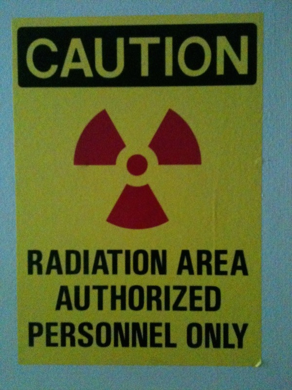 Caution: Radiation Area