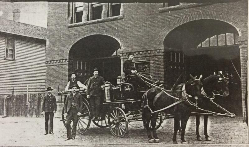 Spokane Fire Station No. 2 Wagon