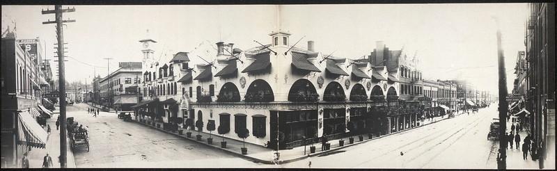 Davenport's Restaurant, 1908