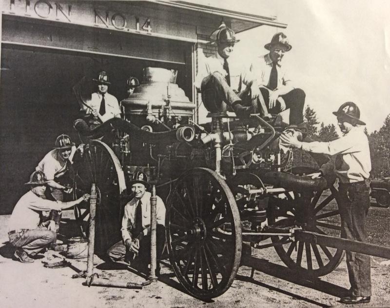 Spokane Fire Station No. 14's 1950s Personnel