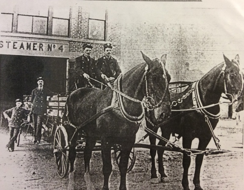 Spokane Fire Station No. 4 Horses