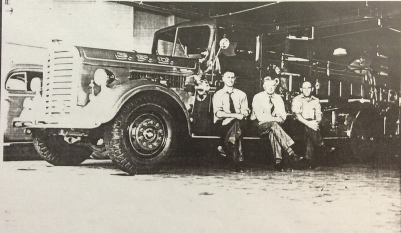 Spokane Fire Station No. 6 1939 Personnel