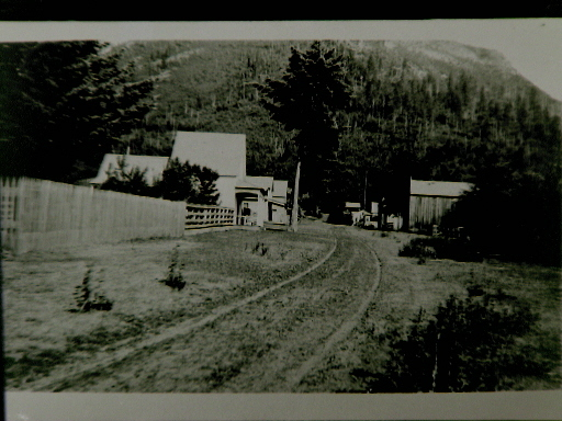 Main Street of Lakeview, Idaho in 1910