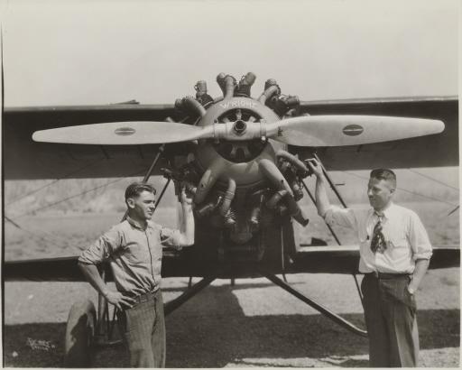 Art Walker and Nick Mamer, August 1929
