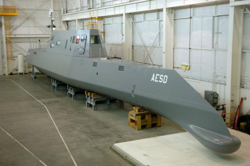 The Sea Jet surface vessel.
