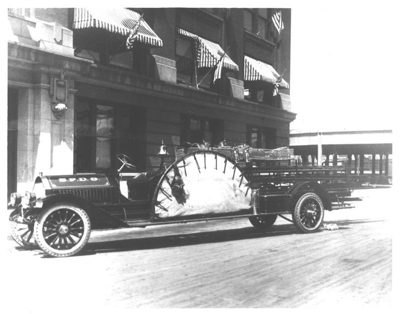 Spokane Fire Station No. 9 Apparatus