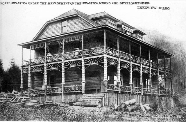 The Swastika Mining Company's Swastika Hotel at Lakeview.