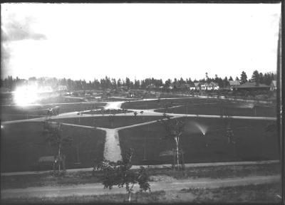 Corbin Park looking east c. 1904