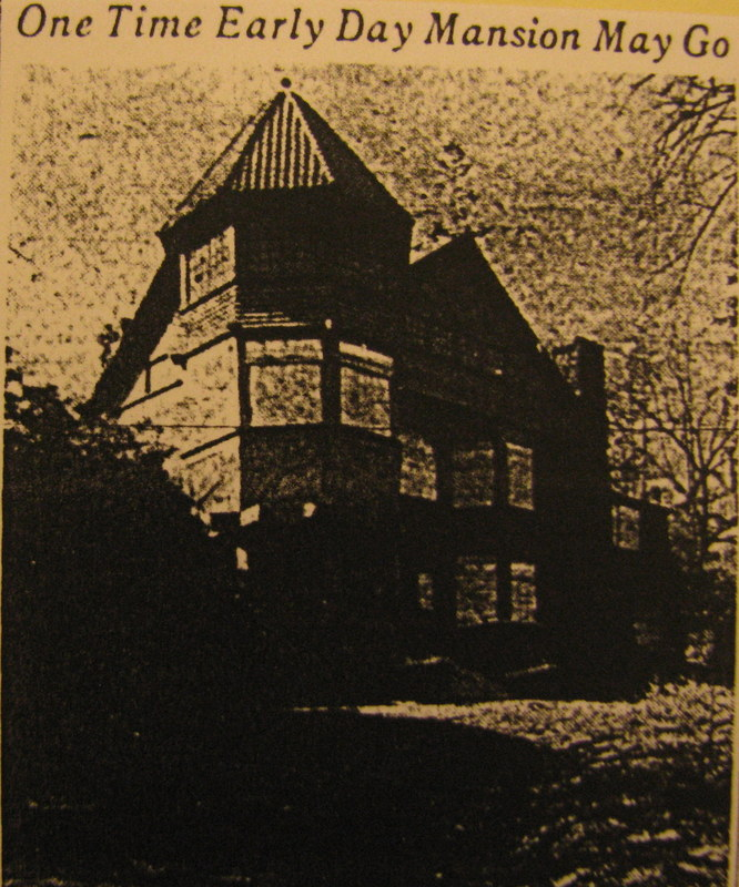 The Mansion to be Torn Down