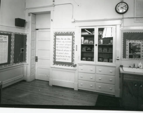 Lewis and Clark Classroom, 1950s