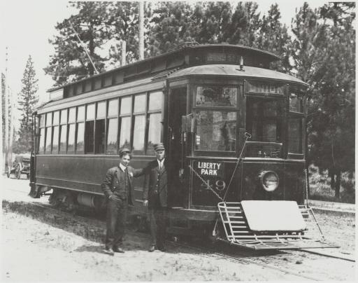 Liberty Park Street Car, c. 1908