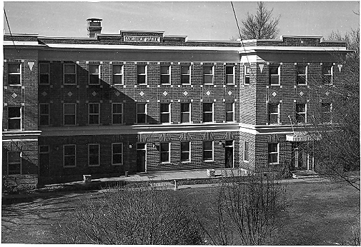 Monroe Hall pre-renovation