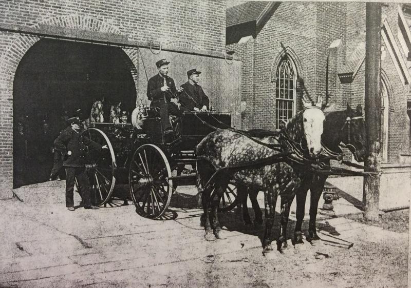 Spokane Fire Department No. 9 Horses