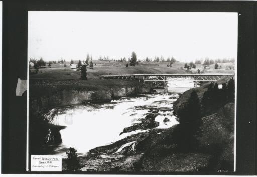 Lower Falls, 1881
