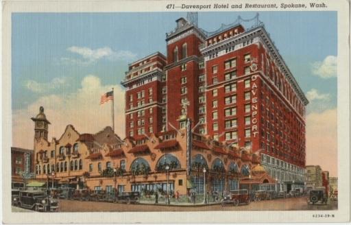 Davenport Hotel and Restaurant