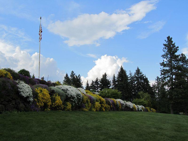 The Wall at the Joel E. Ferris Perennial Gardens