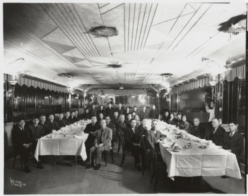 1938 Spokane Japanese Banquet