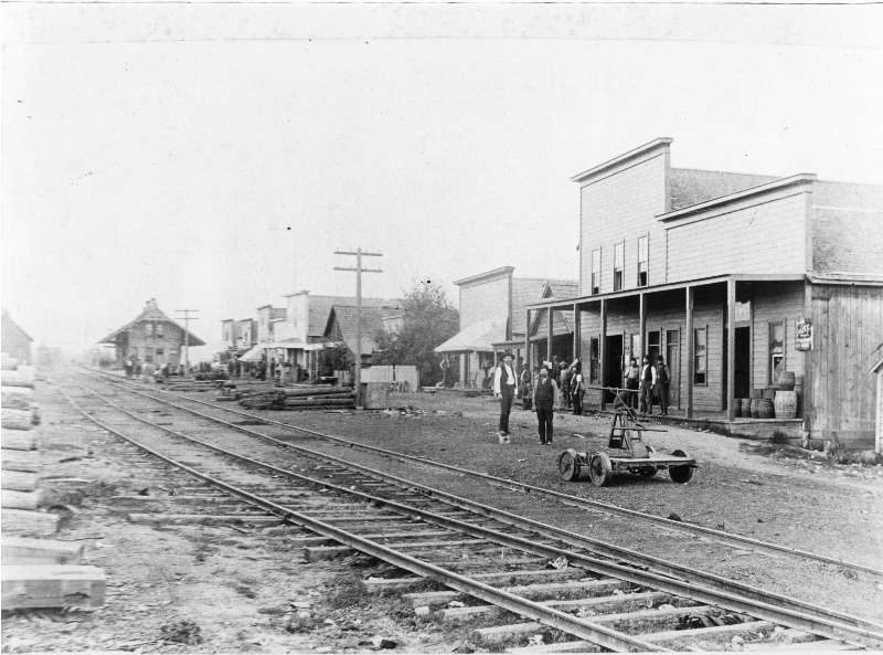 Northern Pacific Train Depot in downtown Sandpoint.
