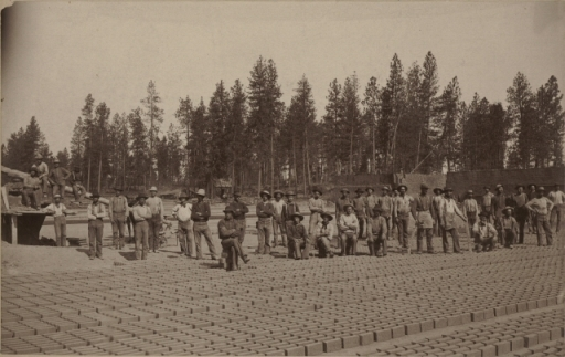 Brickyard, 1889