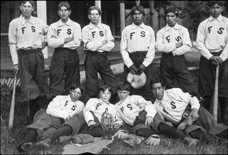 Fort Spokane Indian Baseball Team