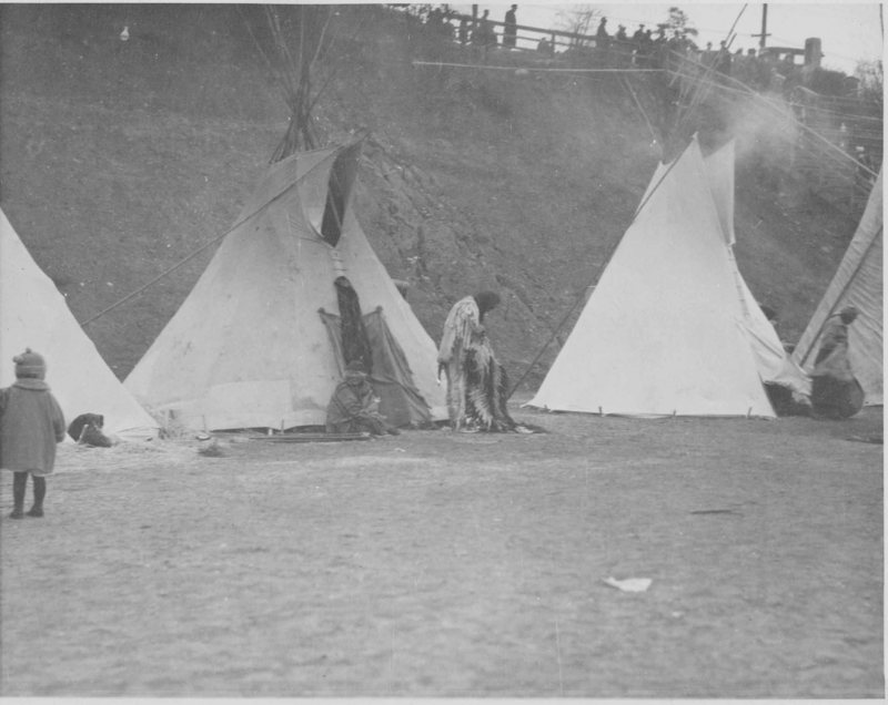 Dressing Outside Tipi