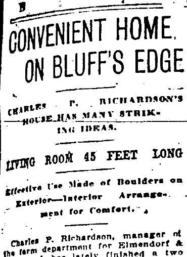A clipping from the May 6, 1906 Spokesman-Review