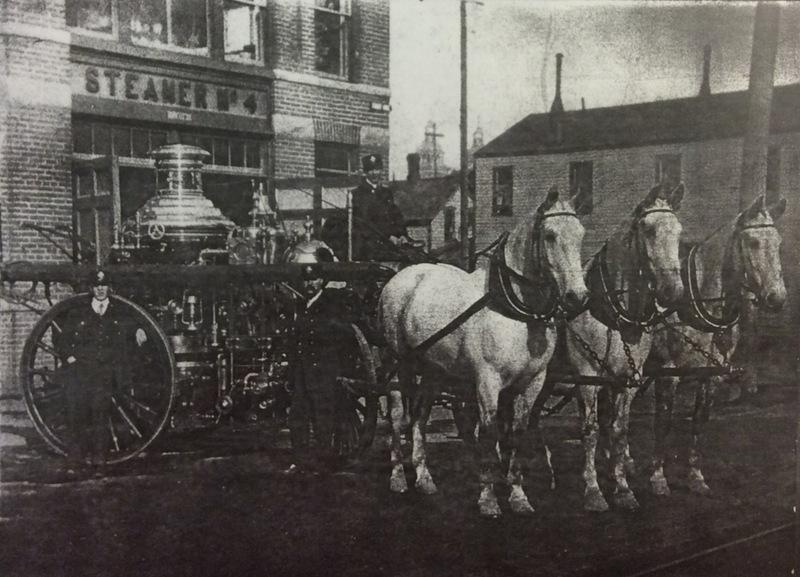 Spokane Station No. 4 Steamer & Horses