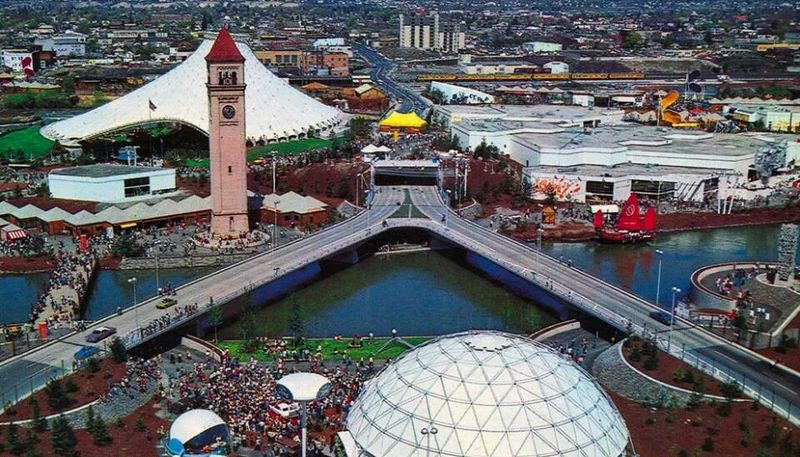 Expo 74 Aerial View