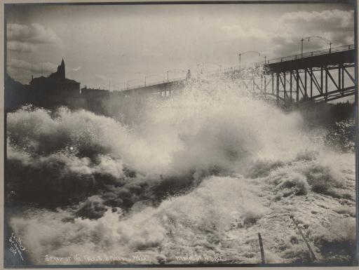 Spokane's Lower Falls, c. 1904