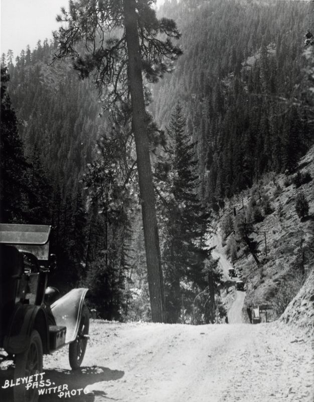 Blewett Pass, 1920, State Library Photograph Collection, 1851-1990, Washington State Archives, Digital Archives, http://www.digitalarchives.wa.gov, April 18, 2013.