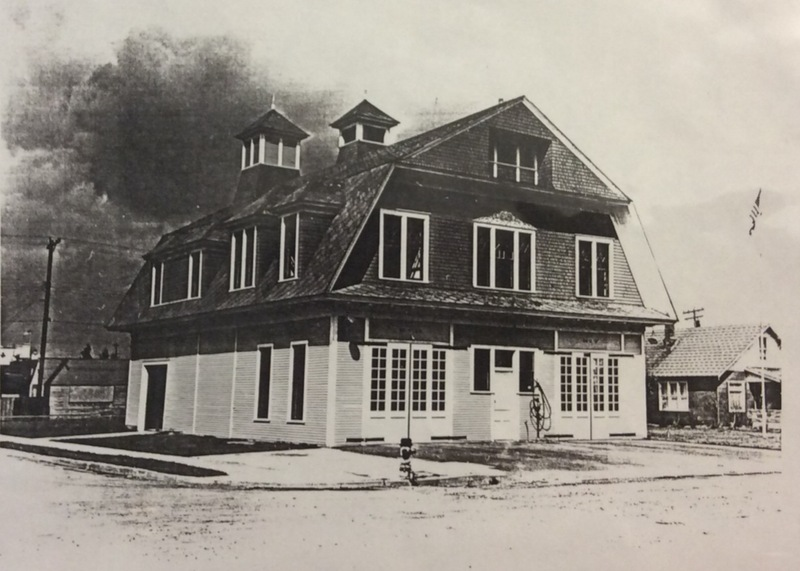 Spokane Fire Station No. 7. in 1958