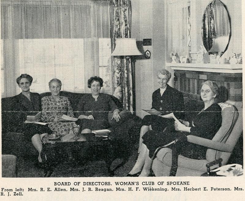 Board of Directors, Woman's Club of Spokane