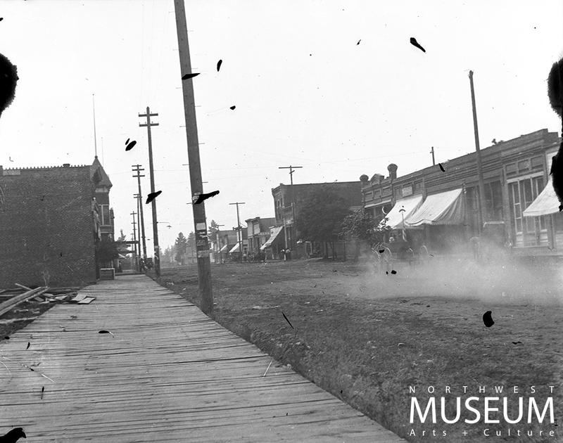 Main Street, Cheney, WA, 1898