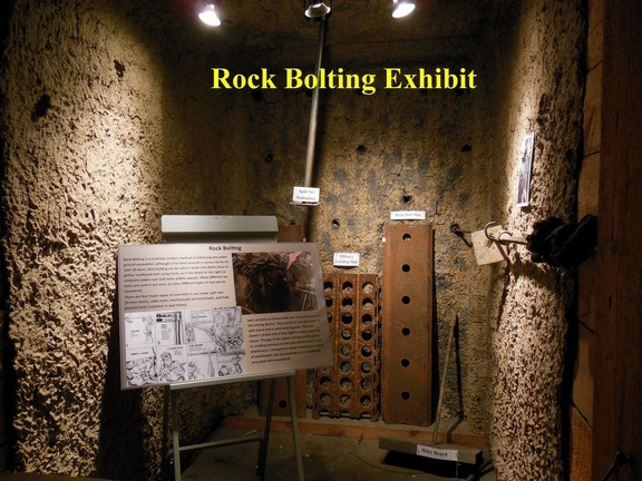Rock Bolting Exhibit