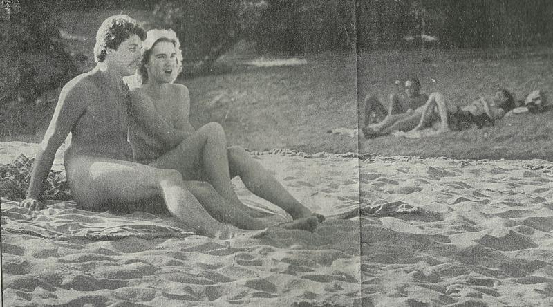 Nude Sunbathers