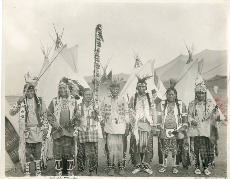 Salish Indian Chiefs