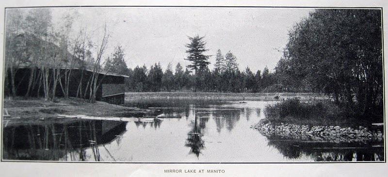 Mirror Lake at Manito circa 1910z