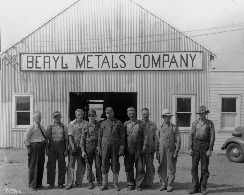 The Beryl Metals Company on South Sprague, 1938 (image L87-1.14389-38 courtesy of the Northwest Museum of Arts and Culture)