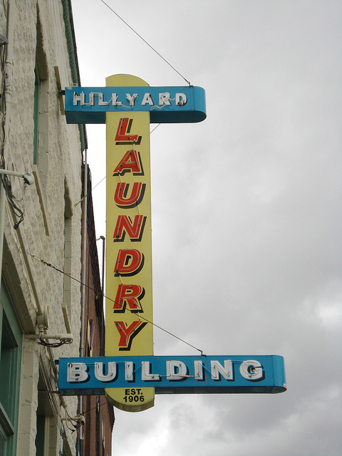 The Hillyard Laundry Building