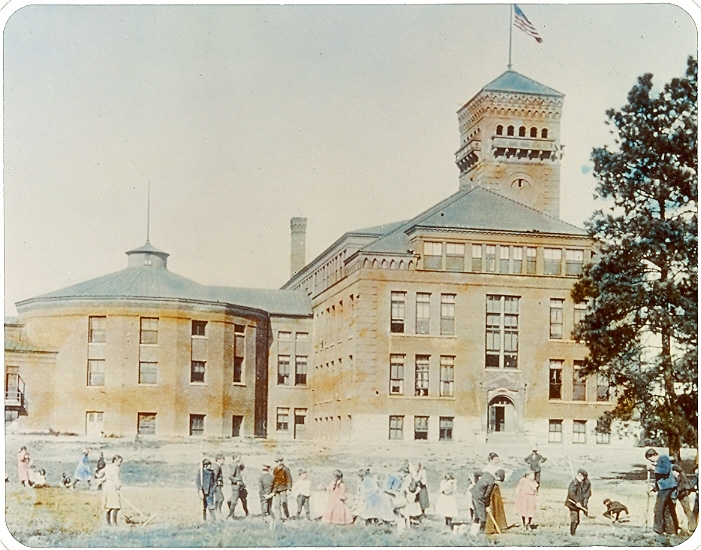 Normal School Administration Building 1900