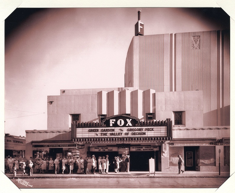 Grand Opening at the Fox, September 1931